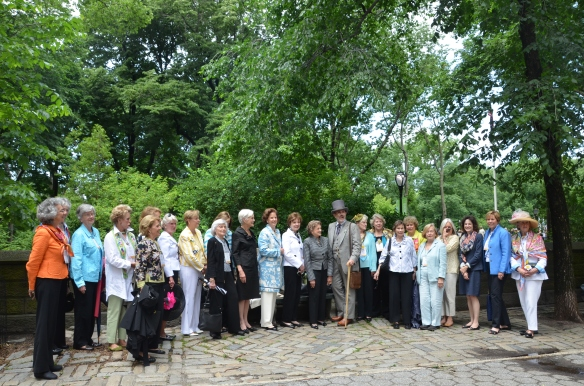 Central Parks Conservancy, Garden Clubs of America, Central Park, Kirk R. Brown, Frederick Law Olmsted, Veronica White, Betsy Barlow Rogers