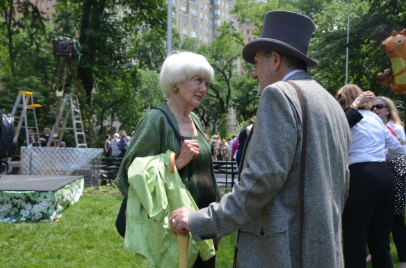 Betsey Barlow Rogers, Kirk R. Brown, Frederick Law Olmsted, Central Park Conservancy, Garden Clubs of America